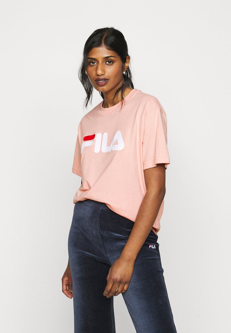 Fila Petite - PURE TEE - T-shirt con stampa - coral cloud