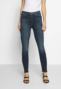 Mother - THE STUNNER FRAY - Jeans Skinny Fit - roasting nuts - 0