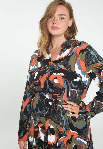 ROBE LONGUE  - Shirt dress - multicolor
