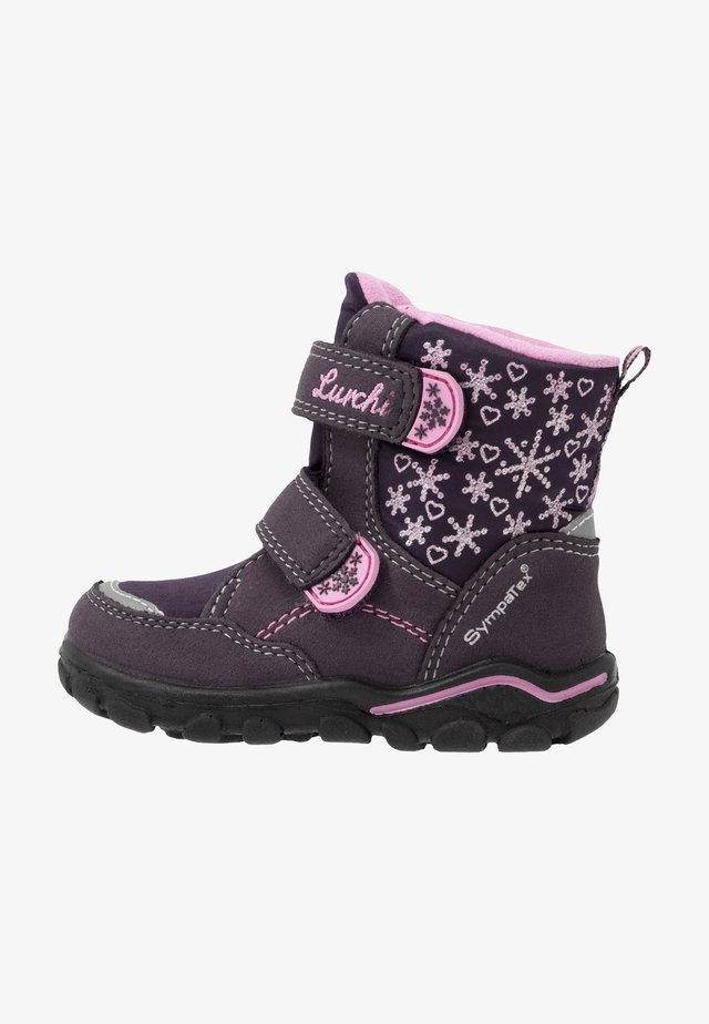 KIRI-SYMPATEX  - Winter boots - aubergine