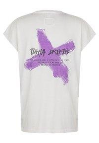 Tigha - Print T-shirt - white - 5