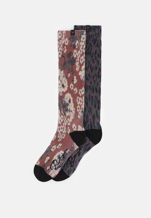 WOMEN 2 PACK  - Knee high socks - dark blue