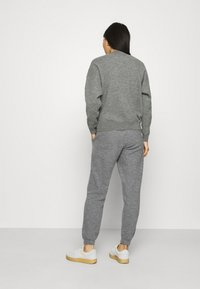 American Vintage - TADBOW - Tracksuit bottoms - gris chine - 2