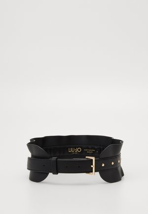 BUSTINO VOLANT BORCHIE - Belt - nero