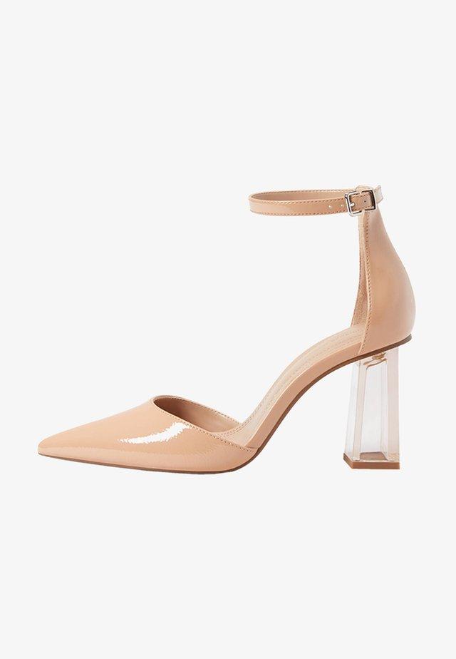 Sandales à talons hauts - stone