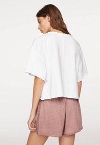 OYSHO - Basic T-shirt - white - 1