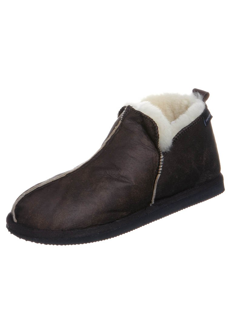Shepherd - ANTON - Slippers - oiled antique