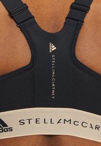 adidas by Stella McCartney - TRUEPUR MAS BRA - High support sports bra - black - 5