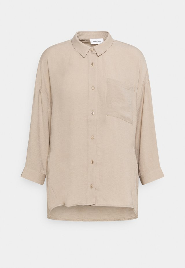 ALEXIS - Button-down blouse - cocoon sand