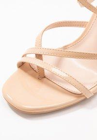 BEBO - PETAL - High heeled sandals - nude - 2