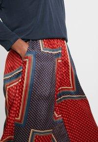 Kaffe - MEDA WIDE PANTS - Trousers - orion blue - 5