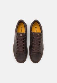 Caterpillar - HEX BASE - Sneakersy niskie - coffee bean - 3