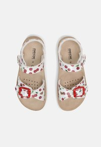 Geox - COSTAREI - Sandals - silver/red - 3