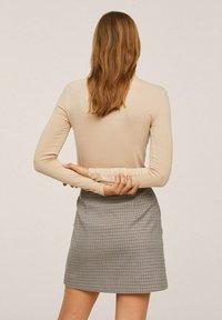 Mango - A-line skirt - marron - 2