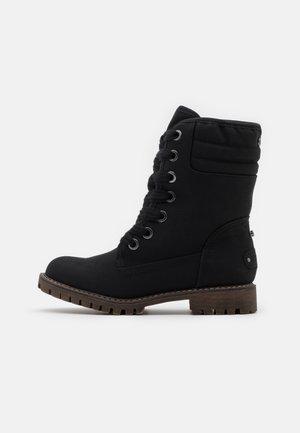 ALDEAN - Lace-up ankle boots - black