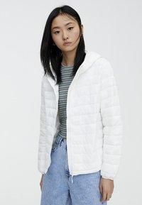 PULL&BEAR - Winter jacket - white - 0