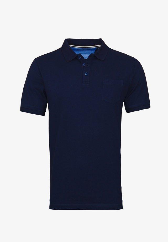 MIT BRUSTTASCHE - Poloshirt - dunkelblau