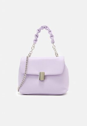 BAG DANIELA WITH CHAIN - Handbag - light lilac