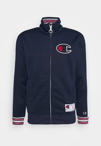 Champion - ROCHESTER RETRO BASKET FULL ZIP - Chaqueta de entrenamiento - dark blue/white