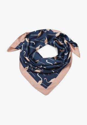 MIT FLAMINGO  - Foulard - blau-rose
