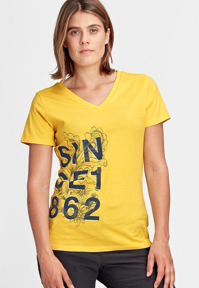 ZEPHIRA - T-shirt con stampa - freesia melange