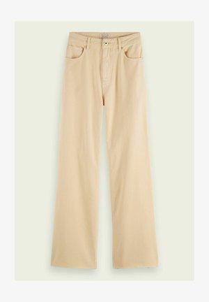 Trousers - soft peach