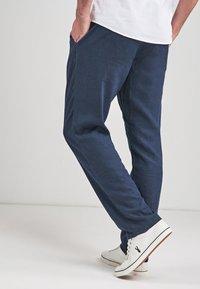 Next - Trousers - mottled blue - 1