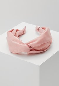 Topshop - KNOT HEADBAND - Hair styling accessory - pink - 0
