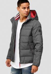 INDICODE JEANS - PHILPOT - Winter jacket - dark grey - 0