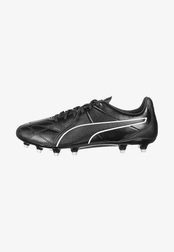 KING HERO FG FUSSBALLSCHUH HERREN - Moulded stud football boots - black/white