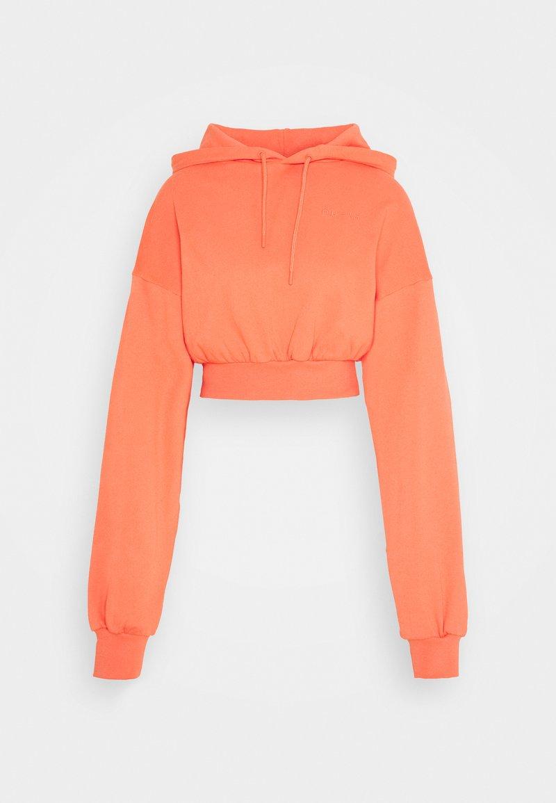 NU-IN - CROPPED HOODIE - Hoodie - orange