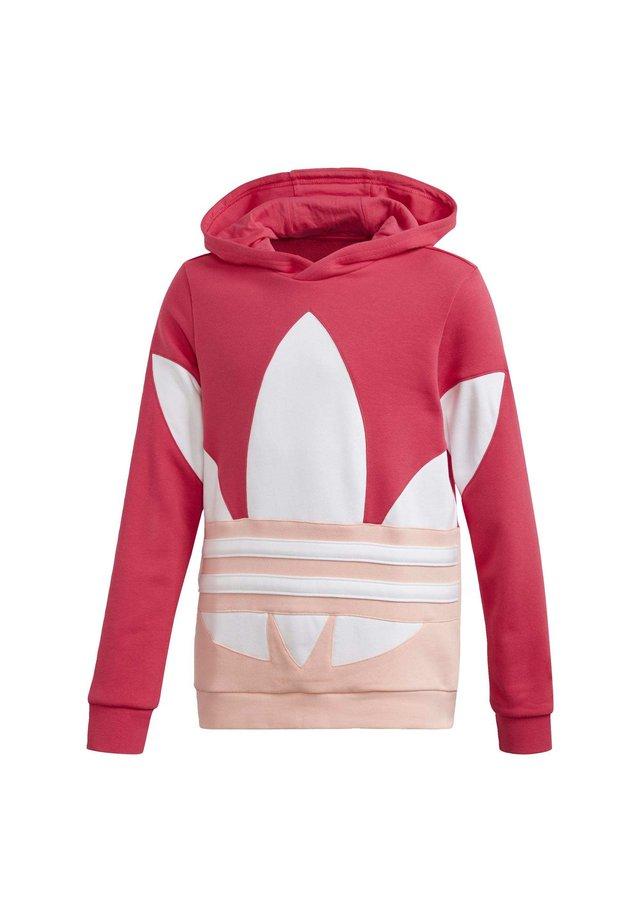 Large Trefoil - Hoodie - Pink