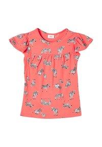 s.Oliver - Print T-shirt - coral aop - 2