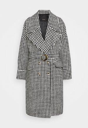 ALLUVIONE COAT - Classic coat - bianco/nero