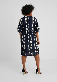 ADIA - DRESS KNEELENGTH - Korte jurk - navy - 2