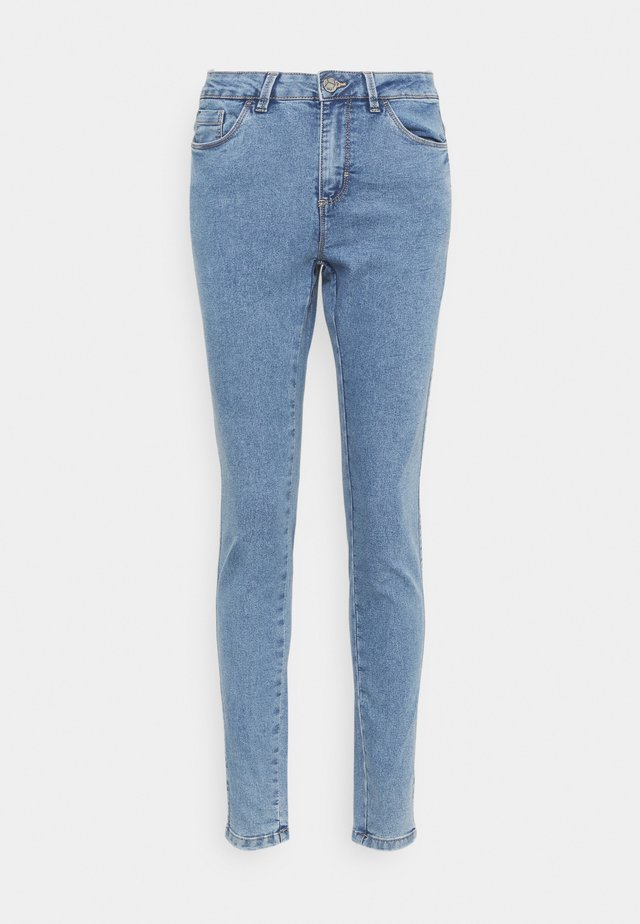 KAVICKY - Slim fit jeans - light blue washed denim