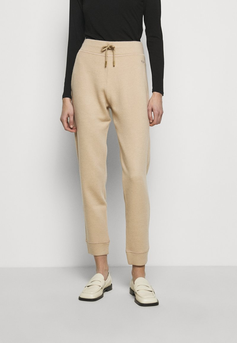 Bally - LUX TRACK PANTS - Tracksuit bottoms - camel