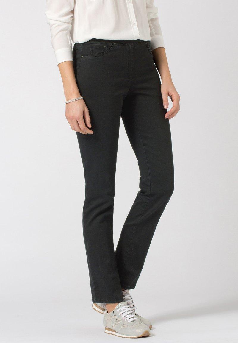BRAX - STYLE PAMINA - Slim fit jeans - black