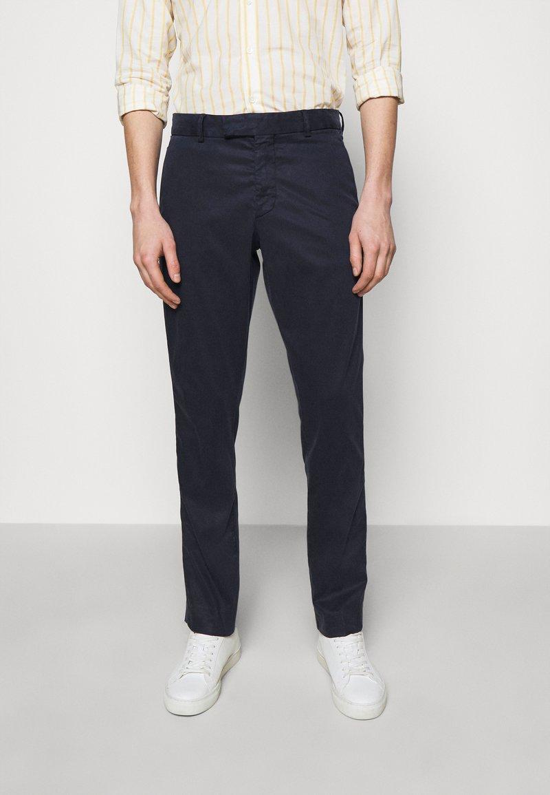 Frescobol Carioca - TAILORED TROUSERS - Trousers - dark blue