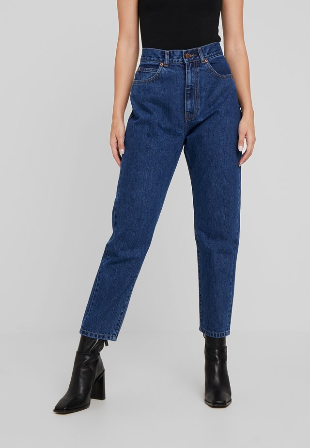 NORA - Relaxed fit jeans - mid blue