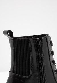 Steve Madden - LATCH - Kotníková obuv na vysokém podpatku - black - 2
