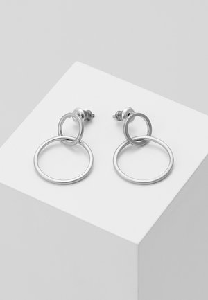 EARRINGS HARPER - Øredobber - silver-coloured