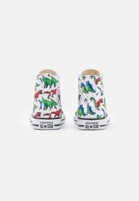 Converse - CHUCK TAYLOR ALL STAR DIGITAL DINOVERSE UNISEX - Sneakers hoog - white/bold wasabi/digital blue - 2