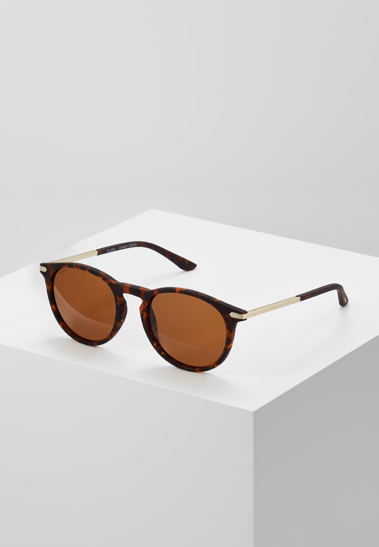 Pilgrim - SUNGLASSES MACON - Sunglasses - brown