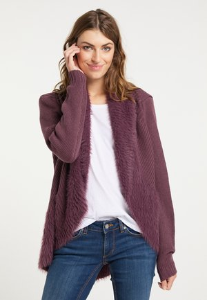 Cardigan - bordeaux