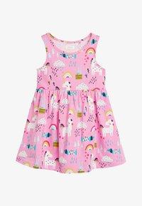 Next - Jersey dress - pink - 0
