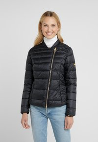 Barbour International - CORTINA QUILT - Übergangsjacke - black - 0
