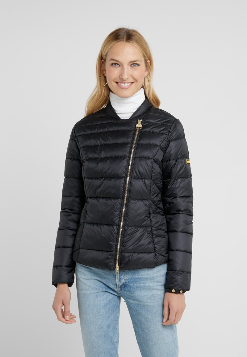 Barbour International - CORTINA QUILT - Übergangsjacke - black