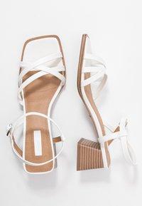 Topshop - DIVINE BLOCK - Sandales - white - 2
