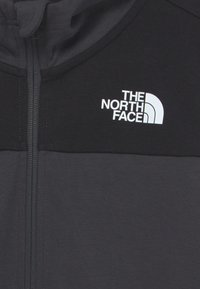 The North Face - SLACKER FULL ZIP HOODIE UNISEX - Zip-up sweatshirt - asphalt grey/black - 2
